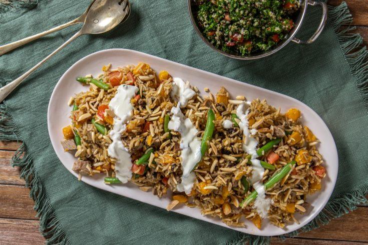 leftover roast lamb pilaf