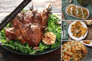 Three Ways to Use Leftover Roast Lamb