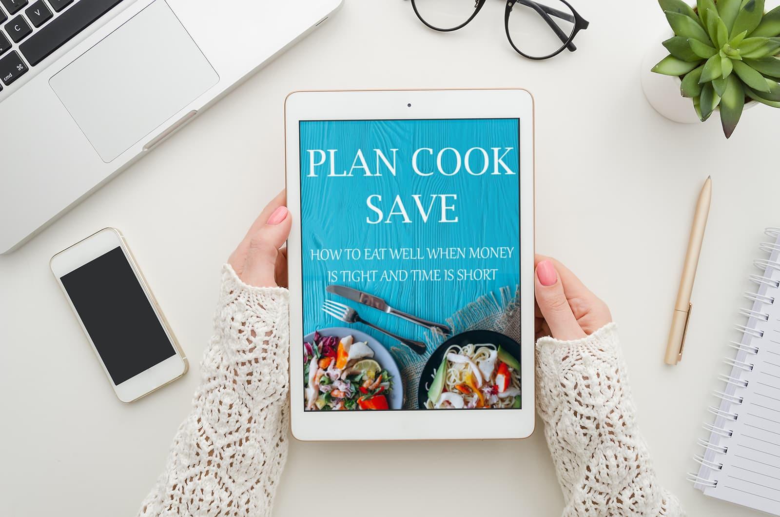 plan cook save ebook on ipad